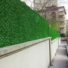 Dekoratif çim duvar