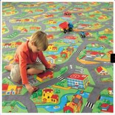 Trafik Çocuk Halısı