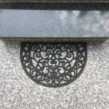Dekoratif Oval Paspas